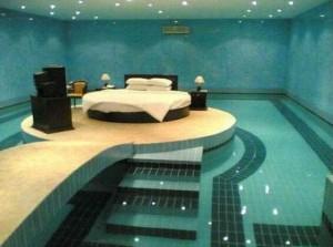 chambre piscine insolite