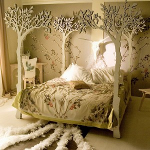 chambre foret insolite