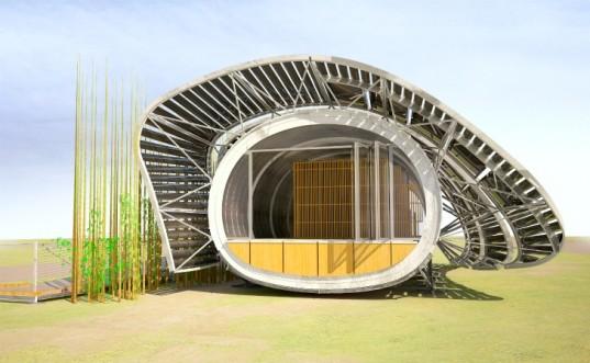 maison écologique originale