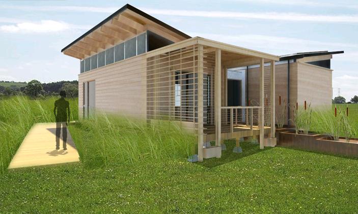 Des maisons cologiques et originales les cl s de la maison for Maison ecologique