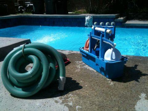 Produits d'entretien des piscines