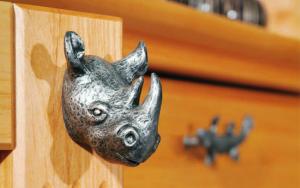 bouton forme de rhinoceros
