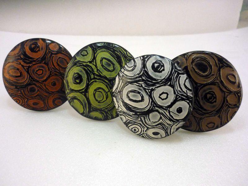 boutons de meuble en polymère