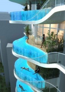 immeuble avec piscine
