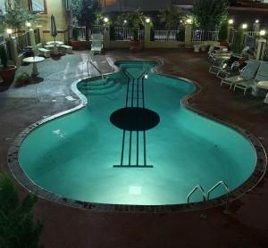 piscine guitare