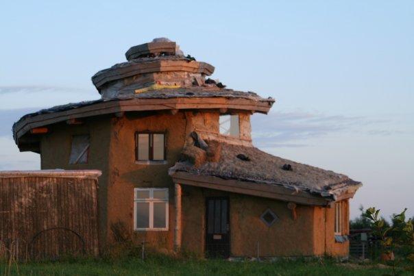 Maison en spirale