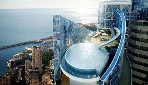Appartement le plus cher du monde sur la tour odéon à Monaco