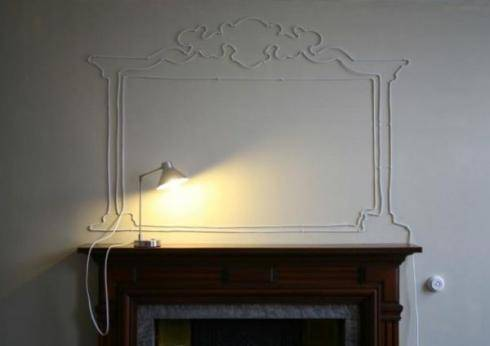 cables représentants manteaux de cheminés