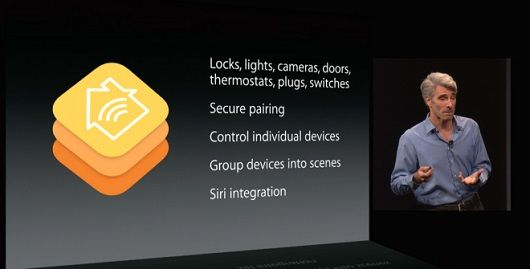 Apple HomeKit à la conférence d'Apple