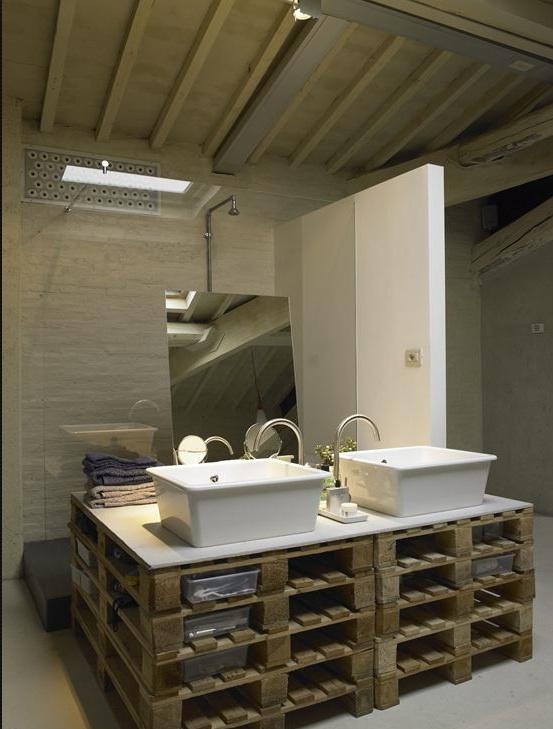 palette salle de bain
