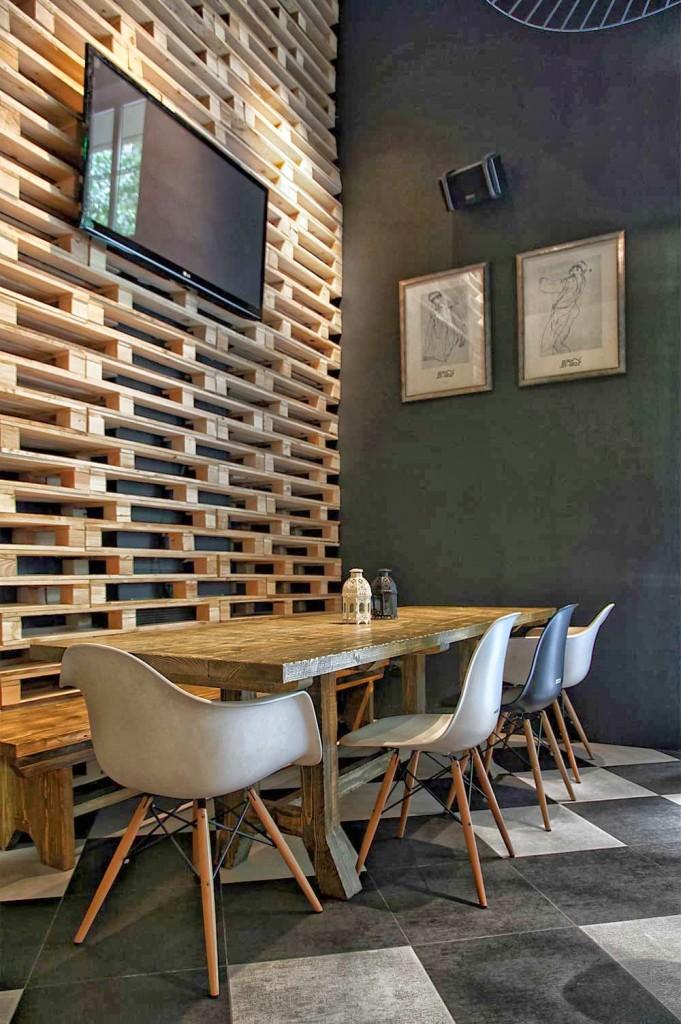15 id es pour r utiliser vos palettes en bois les cl s de la maison. Black Bedroom Furniture Sets. Home Design Ideas