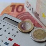argent en euros et calulatrice