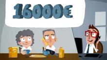 16000€ travaux crédit impot pour un couple