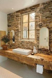 fenêtre salle de bain bois