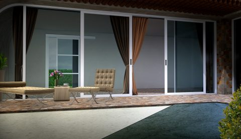 Véranda baie à galandage: l'aménagement d'intérieur par excellence