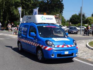 voiture camionnette ERDF