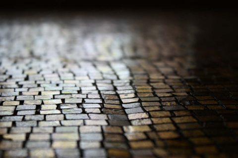 La mosaïque de verre