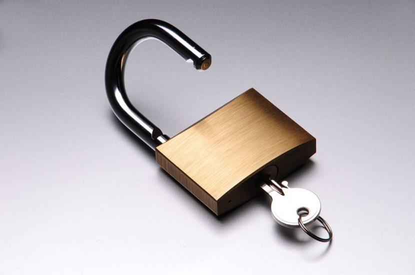 Les critères de choix d'un cadenas à clé