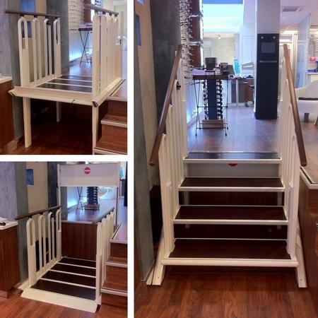 FLEXSTEP ALMA Une double facette escalier/élévateur