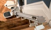 Avant d'acheter, essayez un monte-escalier près de chez vous