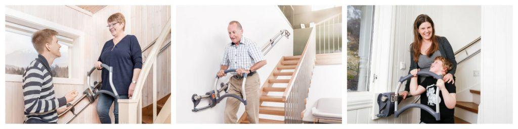 Alternative au monte-escalier : Assistep aide les seniors à monter les escaliers
