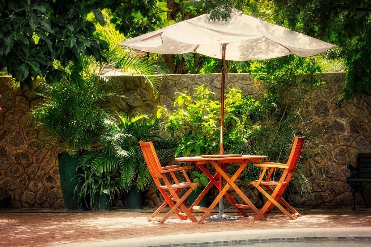 terrasse de jardin