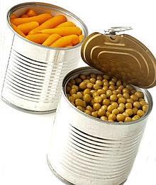 Aliments en conserves