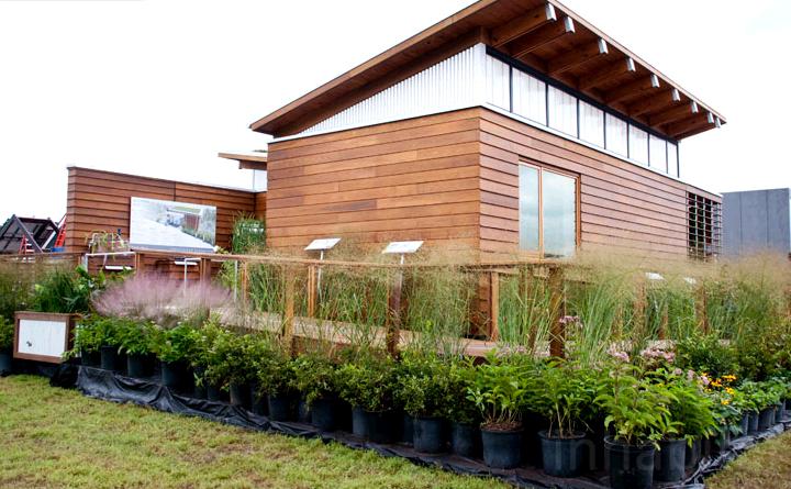 maison originale écologique