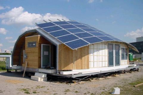 Des maisons écologiques et originales