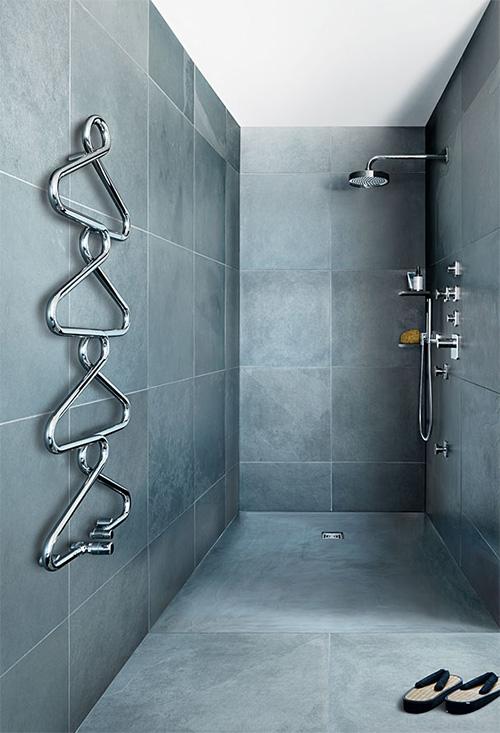 Des radiateurs design et d coratifs les cl s de la maison - Radiateur pour salle de bain ...