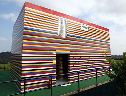 maison lego construite