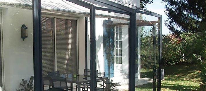 l 39 abri de terrasse pour une terrasse couverte les cl s de la maison. Black Bedroom Furniture Sets. Home Design Ideas