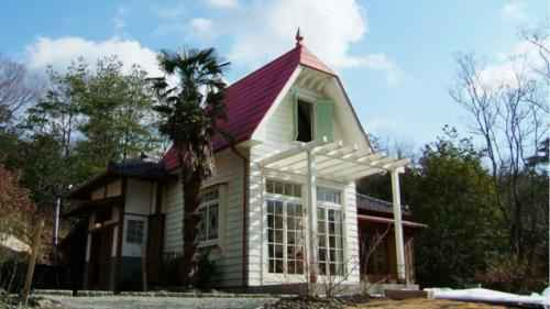 réplique grandeur nature de la maison de la famille kusakabe
