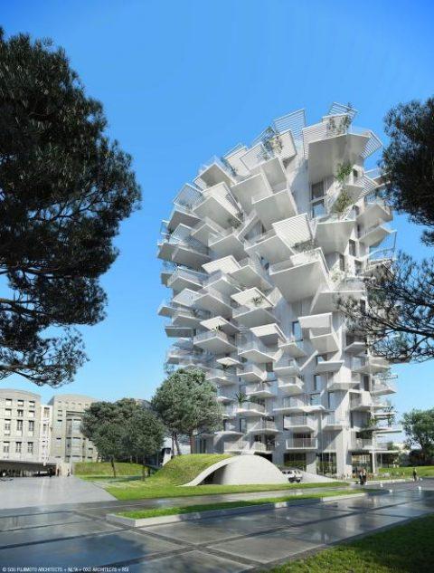 L'Arbre Blanc, tour avant gardiste de Montpellier