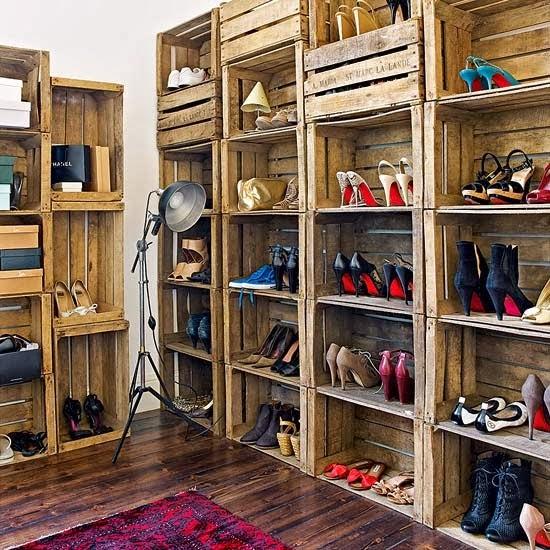 fabriquer un meuble chaussure avec des palettes