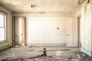 pièce de maison ancienne à rénover