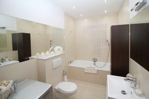 plombier baignoire salle bains